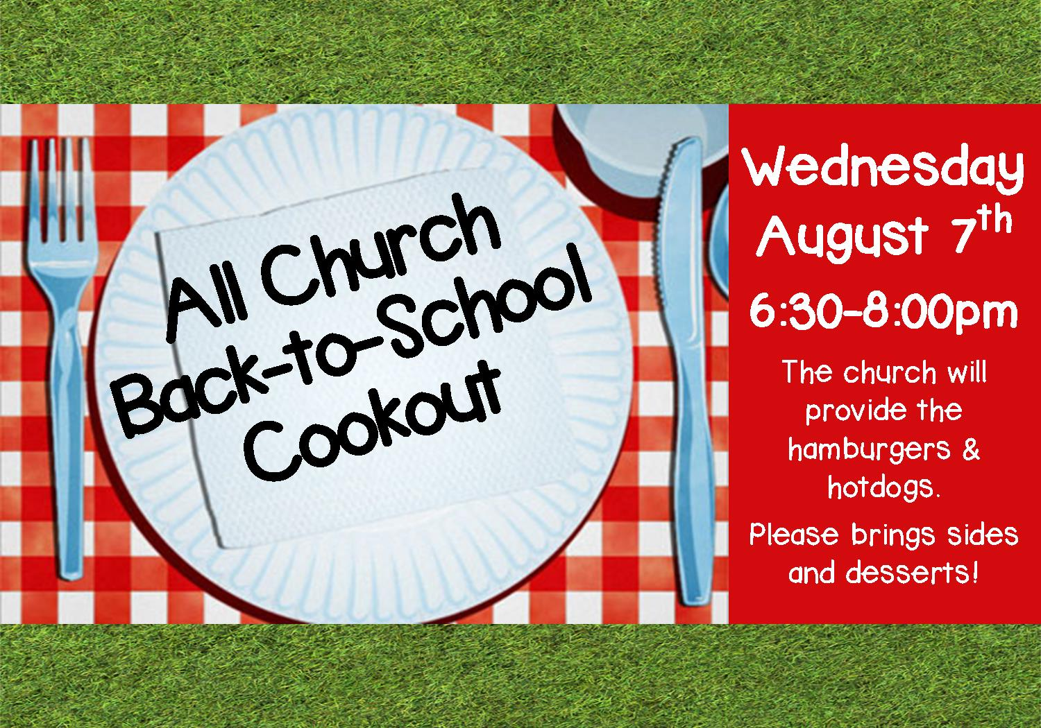 back-to-school cookout 2019