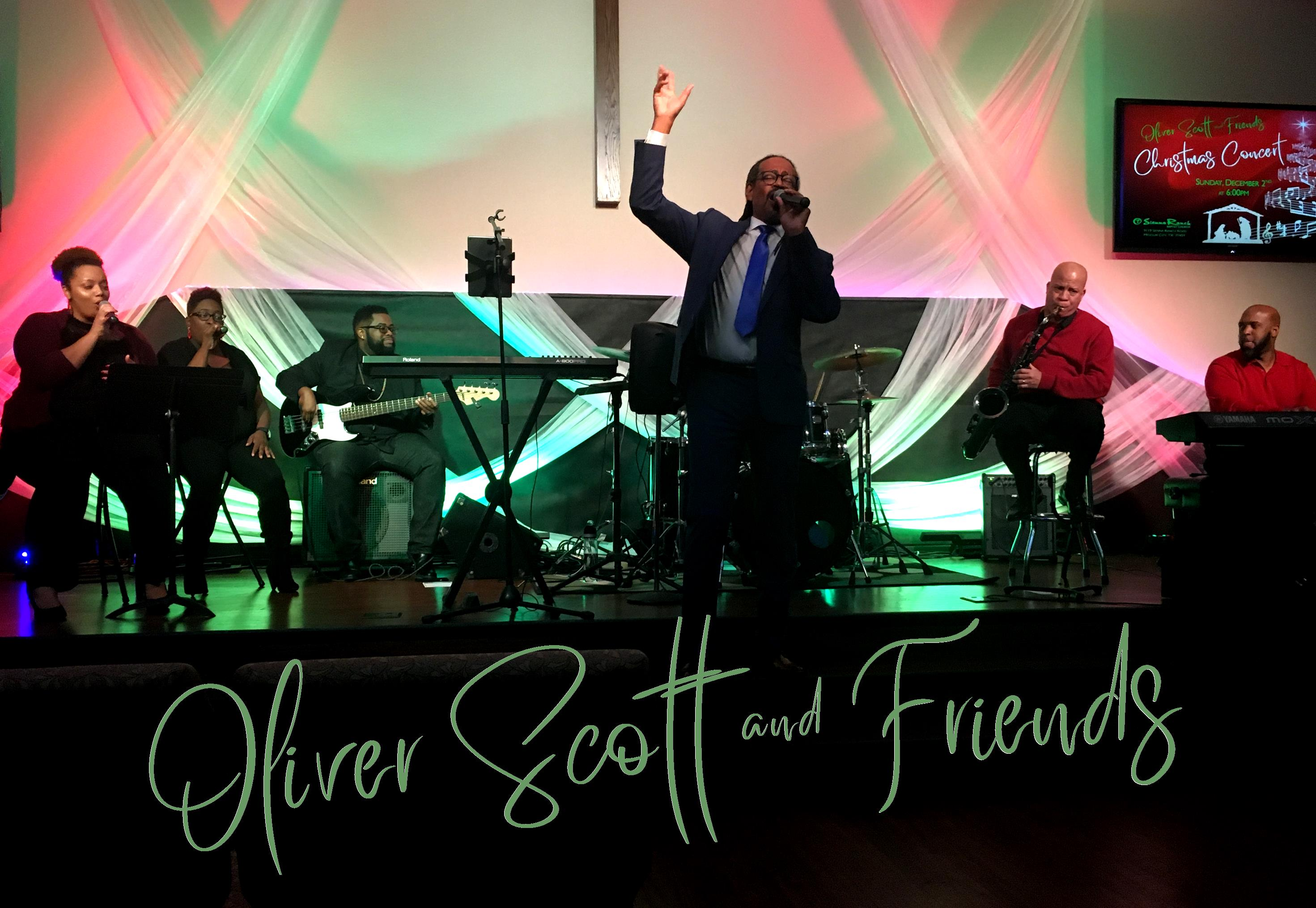 Oliver Scott & Friends w text