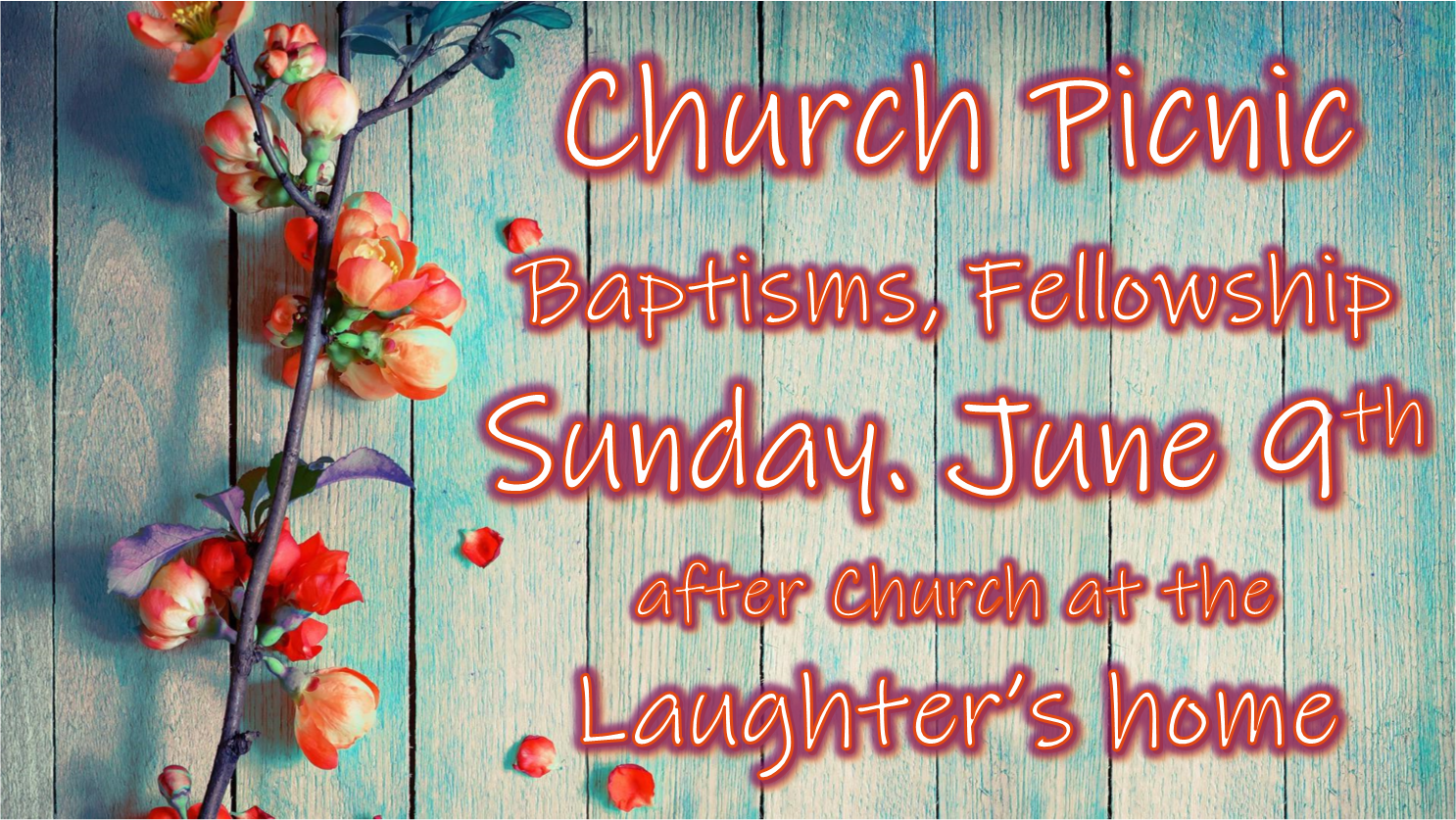 Church Picninc June 9th