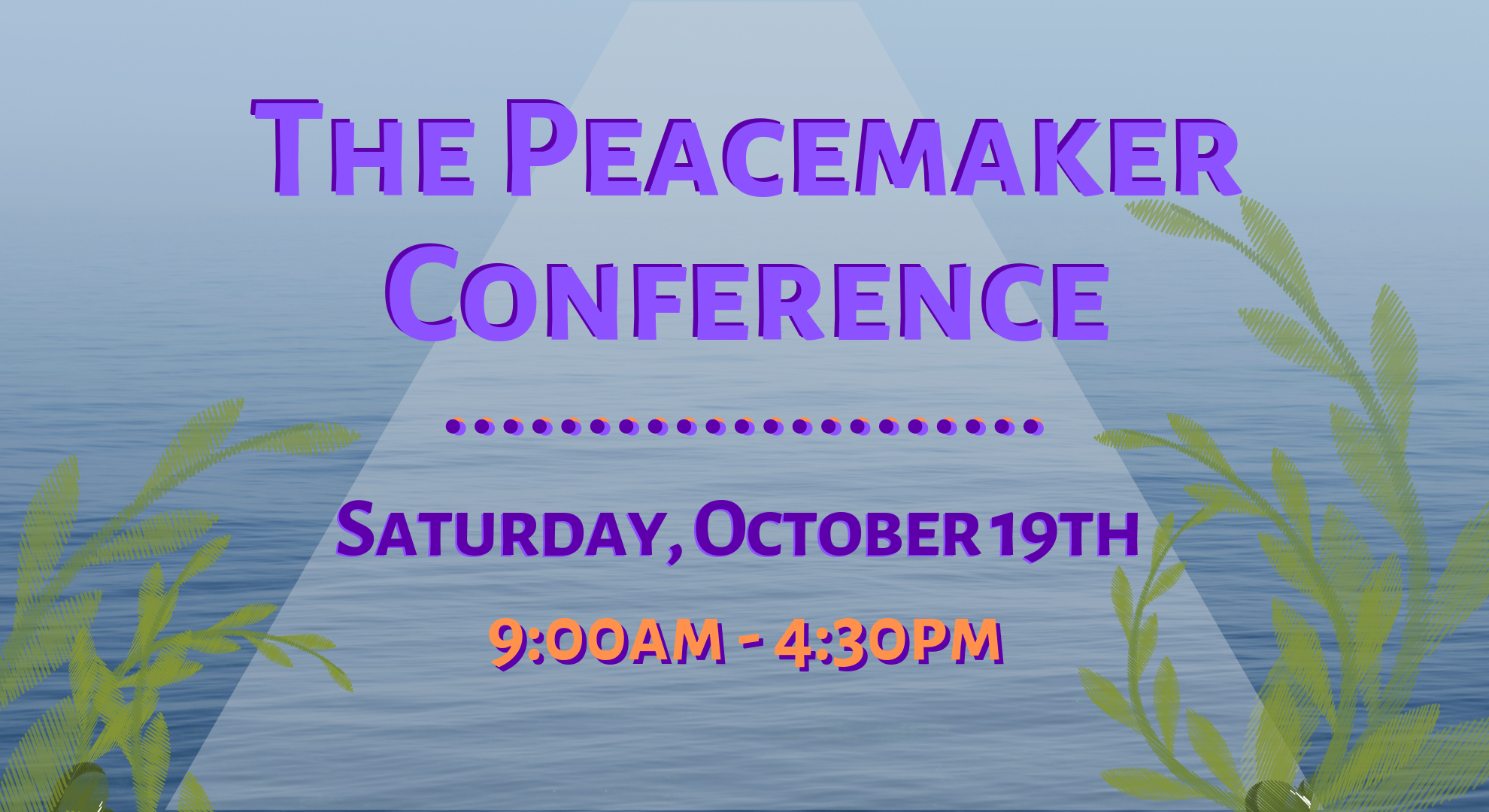 The Peacemaker Conference - mobile homepage (1)