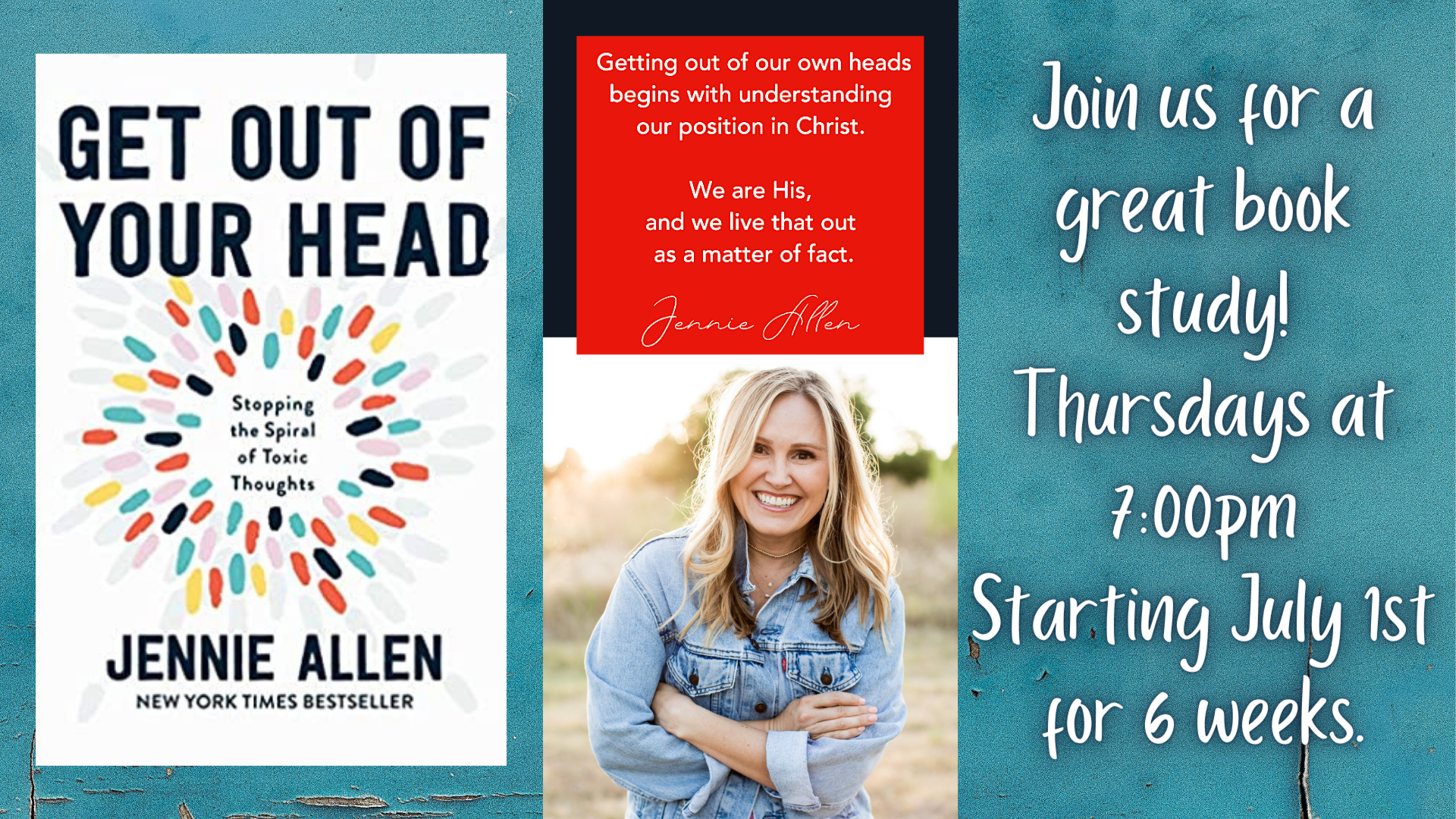 Get Out of Your Head book study