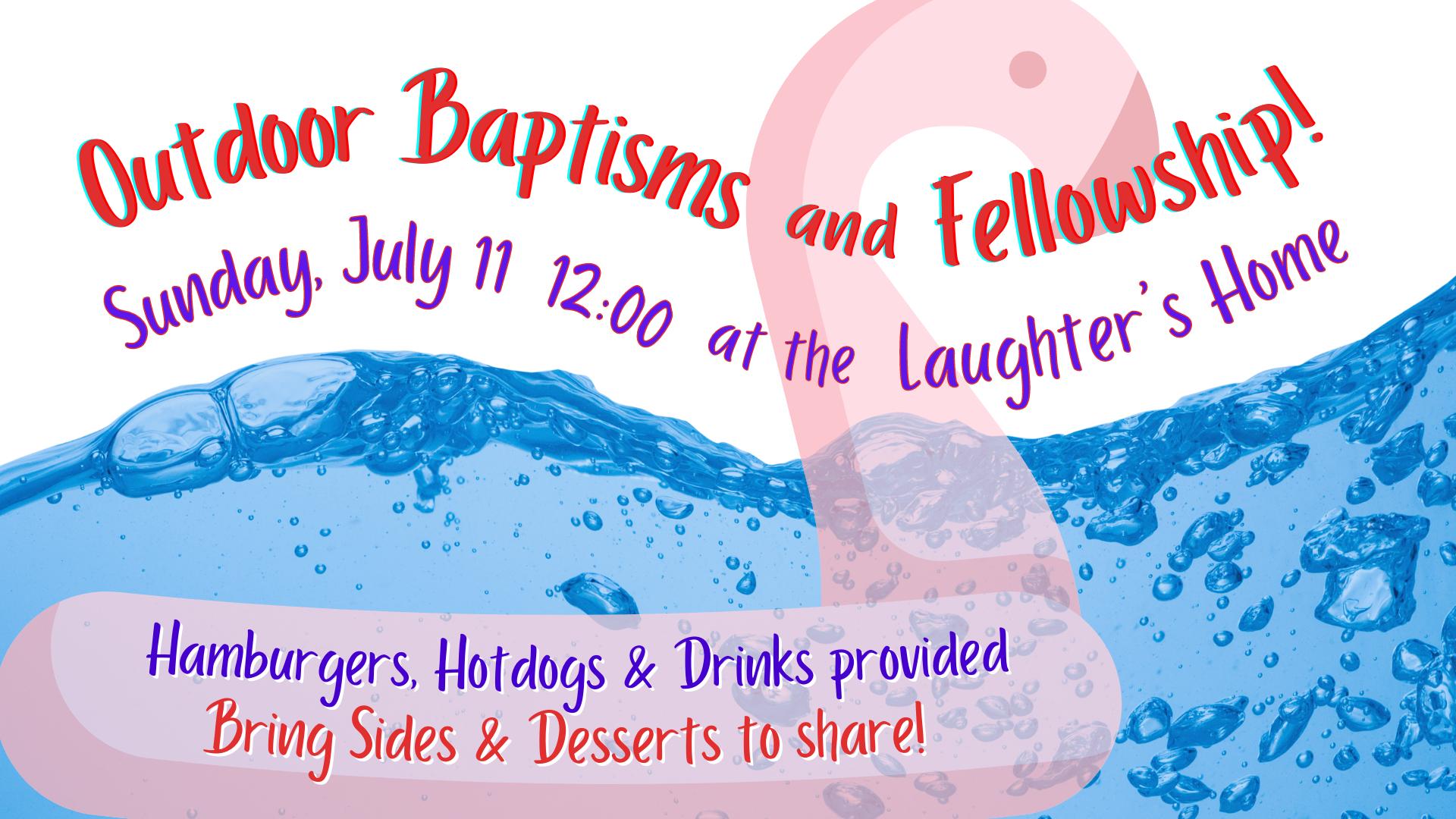Outdoor Baptisms