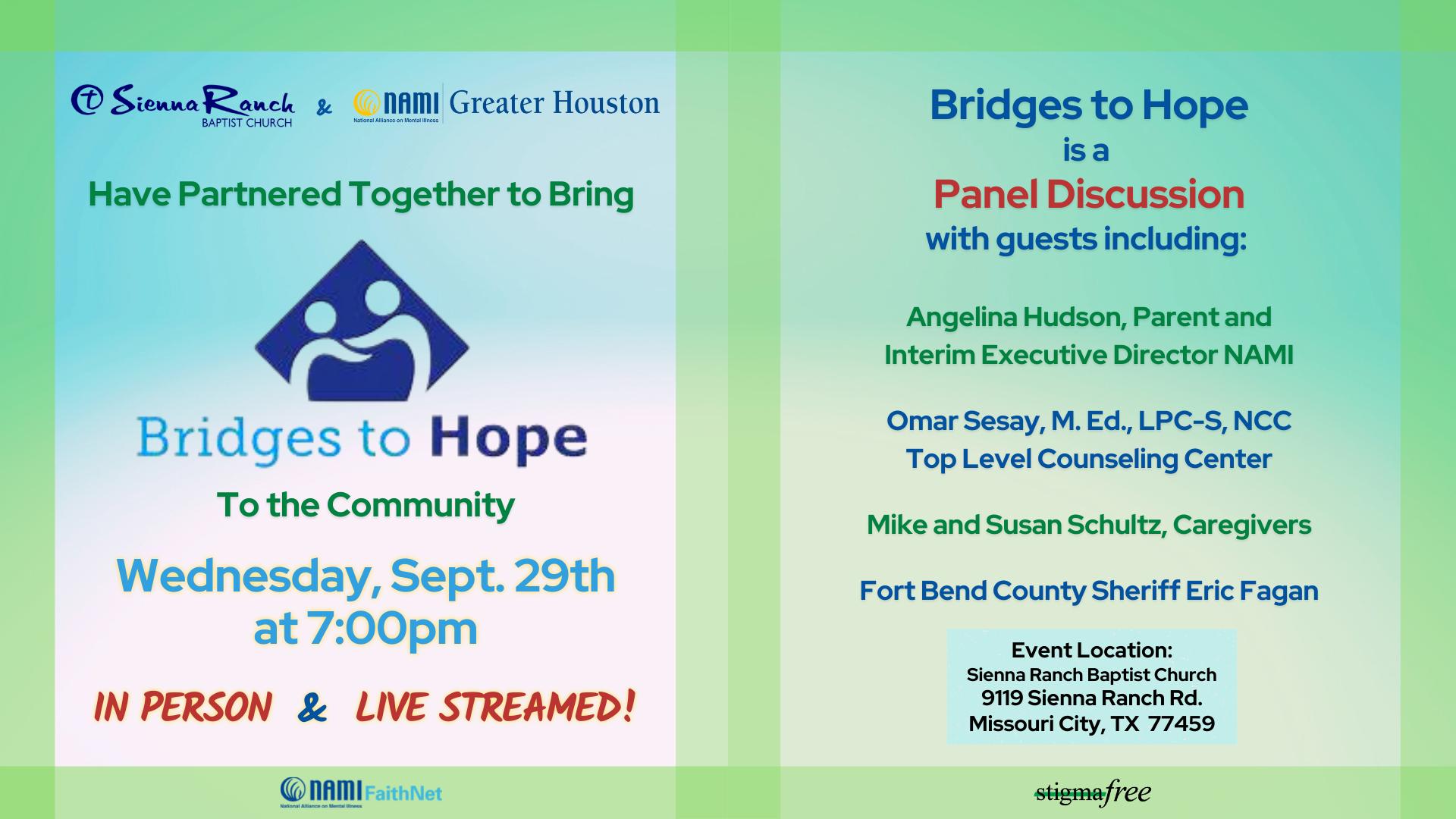 Bridges to Hope (updated)